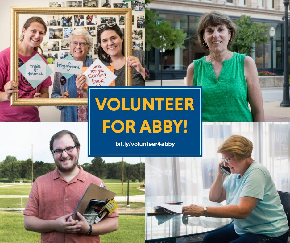 Next weekend is our big WEEKEND OF ACTION! We can't #TakeItBack without all of YOU! Join #TeamAbby and sign up for volunteer opportunities at  http:// bit.ly/volunteer4abby  &nbsp;  ! #IA01<br>http://pic.twitter.com/ZexqILaRkN
