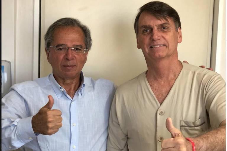 Economista da campanha de Bolsonaro, Paulo Guedes cancela mais uma participação em evento público https://t.co/tZ5FUEeNl7 #Eleições2018