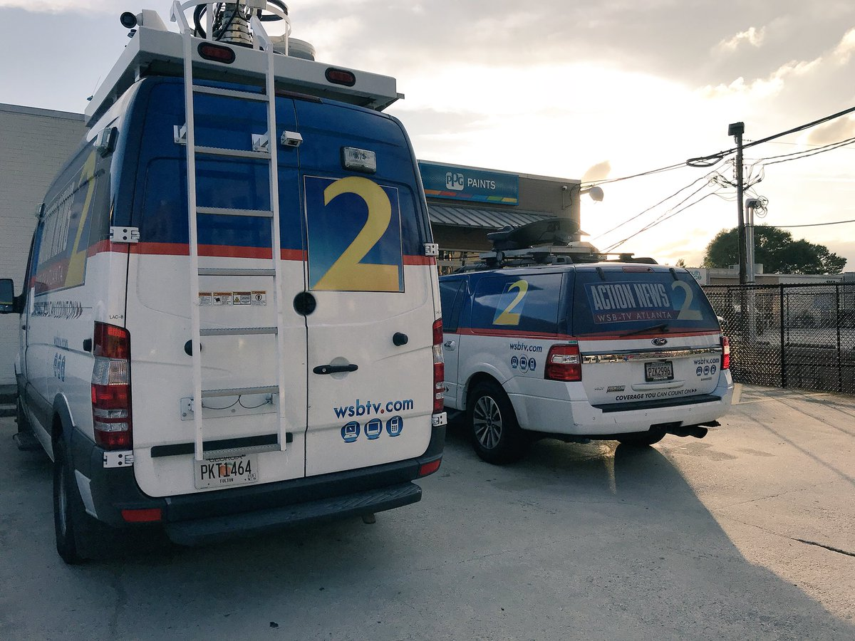This is how the number #1 station in #Atlanta covers #breaking news. @wsbtv