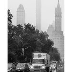 Image for the Tweet beginning: Manhattan in the rain: day