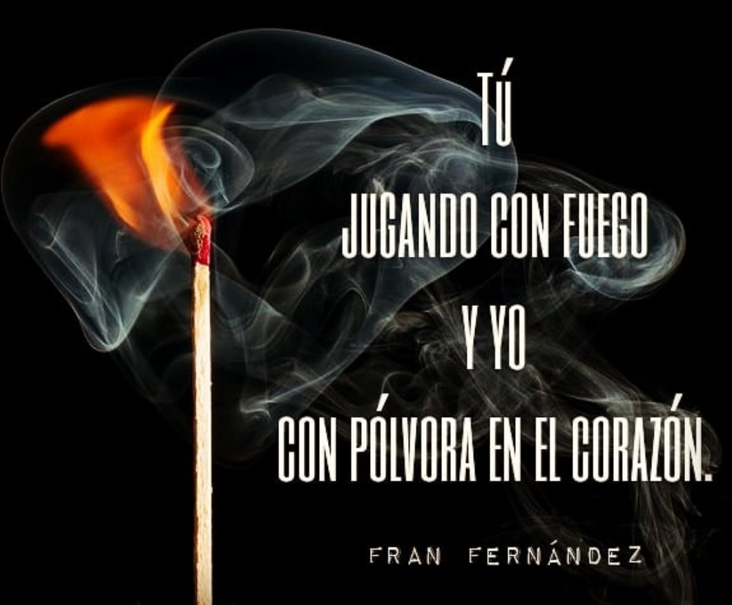 Universo Fran Fernández On Twitter Y Yo Con Pólvora En El
