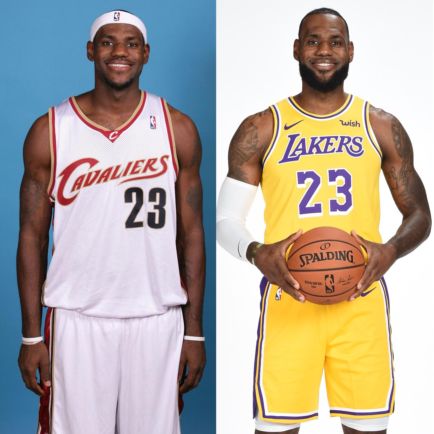Then and Now: NBA edition https://t.co/VOaH7DzXSW