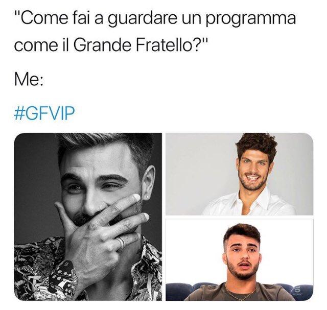 Quando la gente mi chiede perché io guardi i programmi Trash di Mediaset @GrandeFratello #gf #GFVip2018 #GFVIP #GrandeFratello #Canale5 #IlaryBlasi #vip #tv  - Ukustom