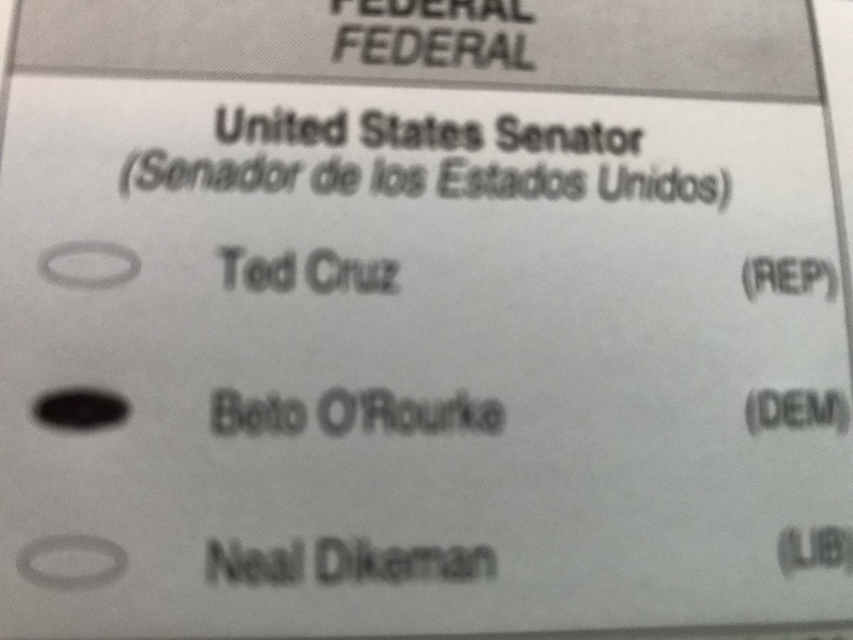 Today, I proudly voted absentee for @BetoORourke GO BETO!!! <br>http://pic.twitter.com/gF6KGQ7Ewq