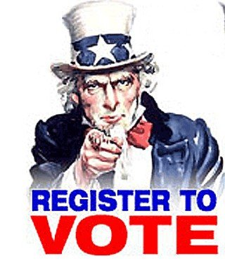 #BeAVoter  LET YOUR VOICE BE HEARD...... REGISTER TO VOTE! <br>http://pic.twitter.com/n3KrwCIjDY