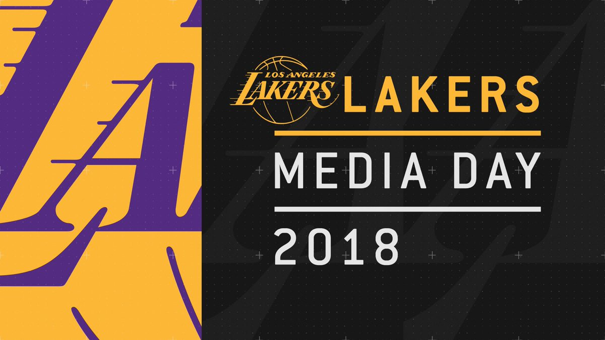 ICYMI: We'll be replaying #Lakers Media Day all night long on Spectrum SportsNet! 📺