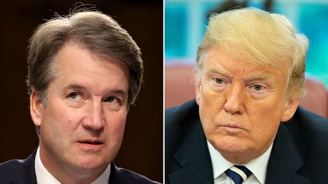 Kavanaugh says Trump called him say 'he's standing by me' https://t.co/exiQb9rCw8