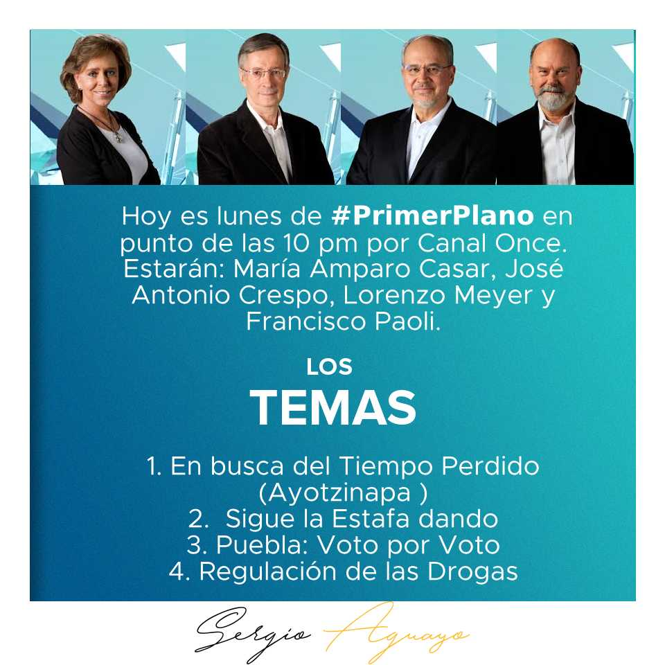 #PrimerPlano Latest News Trends Updates Images - sergioaguayo