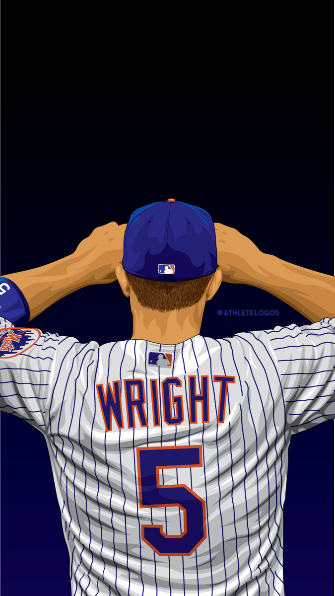 The new David Wright illustration in wallpaper size. #LGM <br>http://pic.twitter.com/dOPXeP0bKW