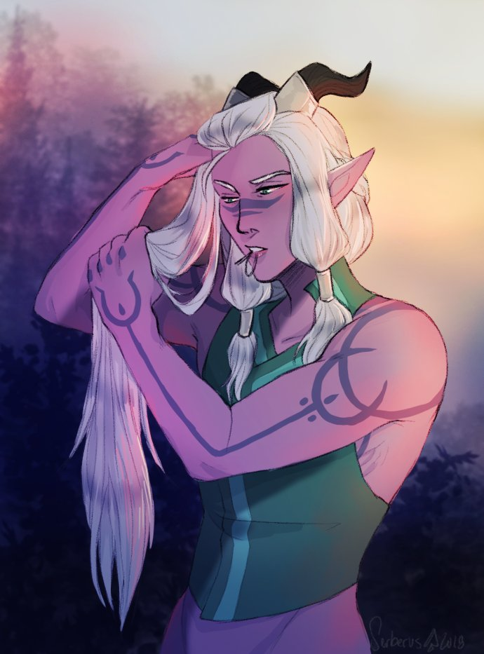 I&#39;m a person of refined taste. And by that I mean I&#39;m weak for hot elves tbh... #TheDragonPrince #Runaan<br>http://pic.twitter.com/MxkeEu9mfc