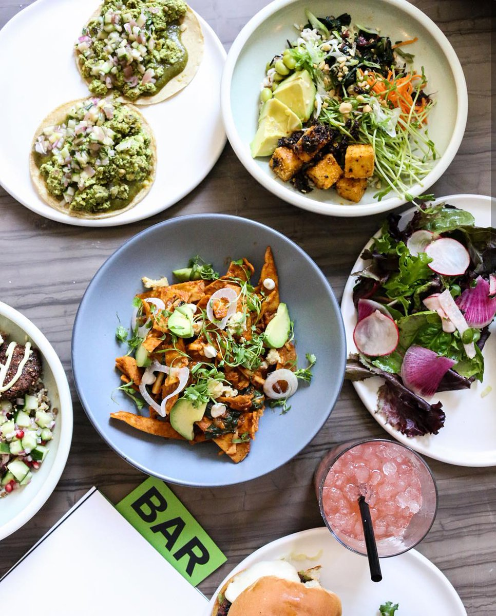 #DYK that Canada is home to tasty and innovative vegetarian restaurants? Whether you're a veggie lover or just trying out a #MeatlessMonday, their savory plant-based menus will certainly satisfy your palate. No boring salad today!rosalindarestaurant /IG<br>http://pic.twitter.com/GJBntnfM8s
