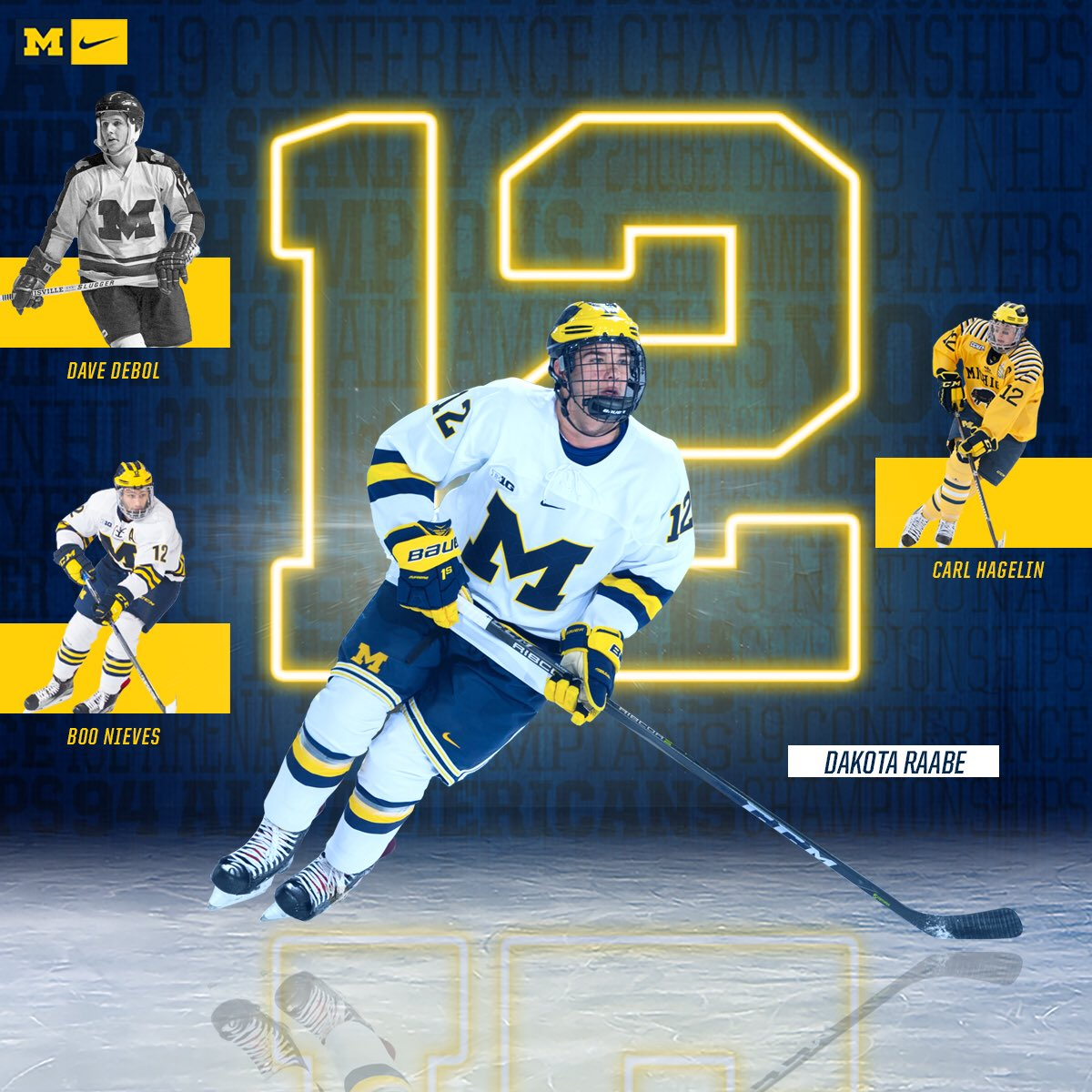 cheaper 3dfc1 76df1 Michigan Hockey on Twitter:
