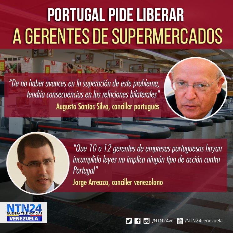 Portugal podría tomar acciones contra Venezuela por arresto de empresarios https://t.co/5wsOzC90QW