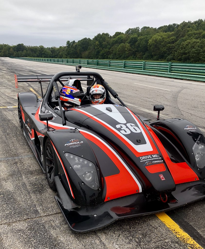 Spent the day on the track with @neeljani and @Harold_Primat for the 5th Annual Primland Racing Experience @VIRNow #PRE2018 #client