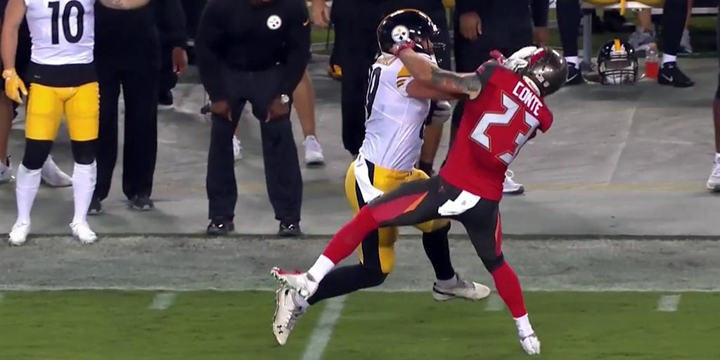 NFL players react to @VMcDonald89's stiff-arm touchdown: https://t.co/N7wzsepTjX