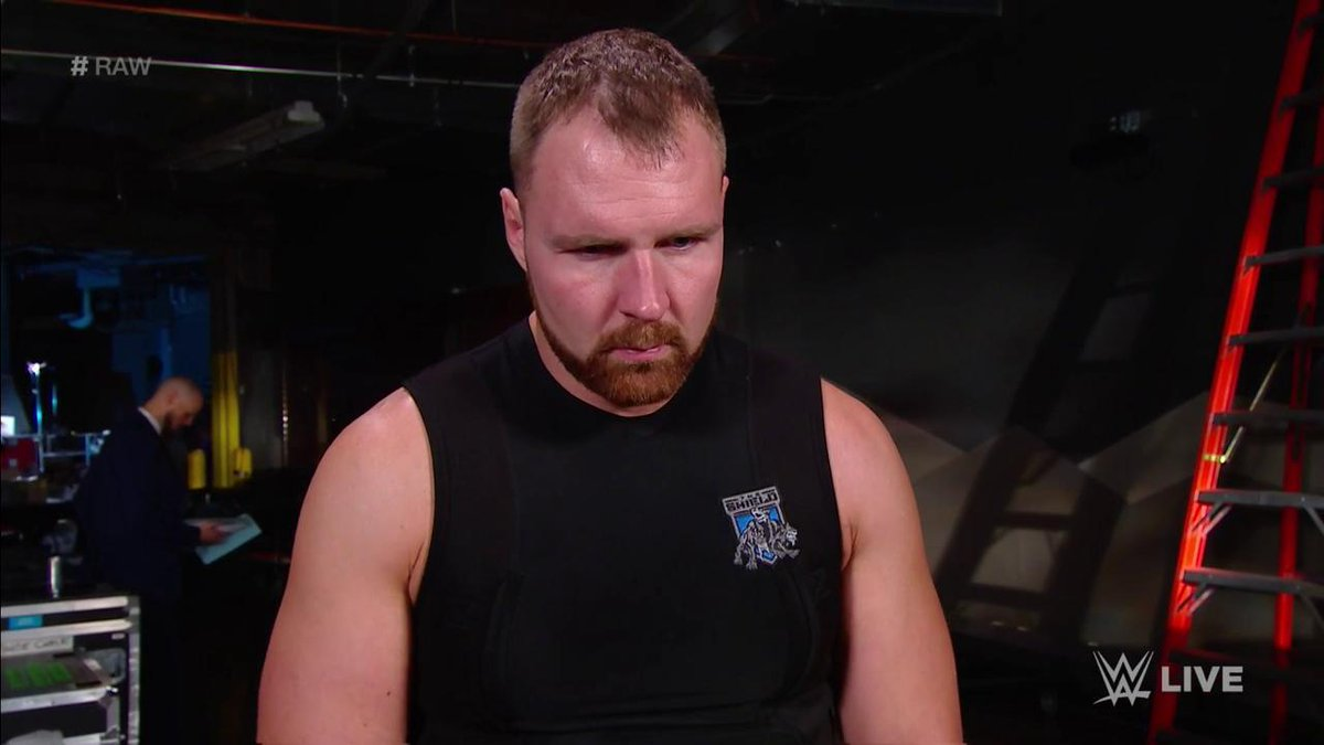 To be inside the mind of @TheDeanAmbrose right now... #RAW