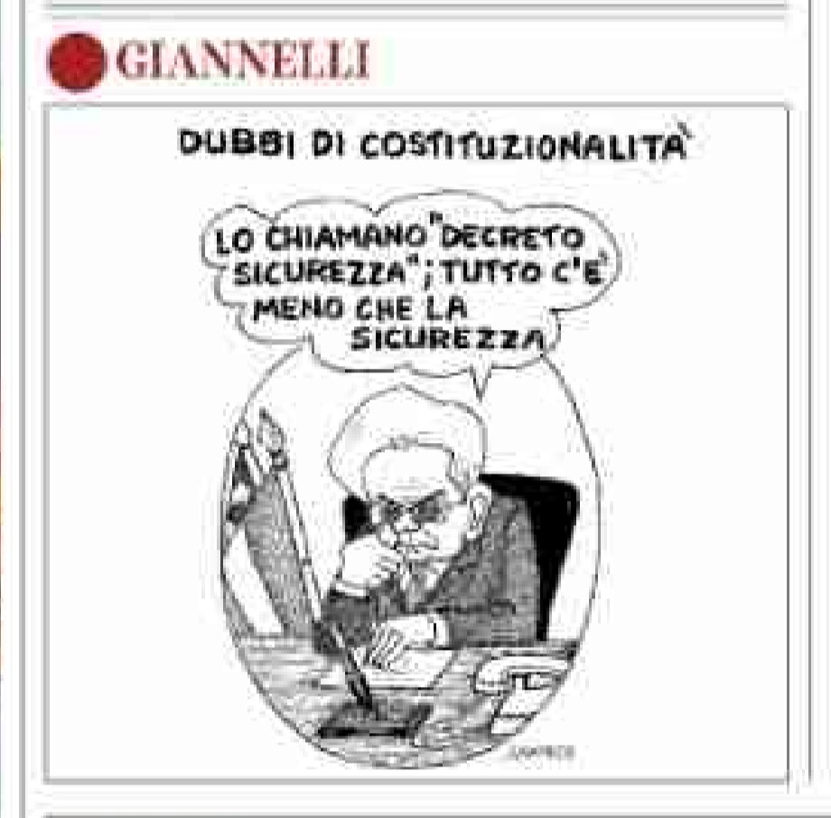 La vignetta di #Giannelli  - Ukustom