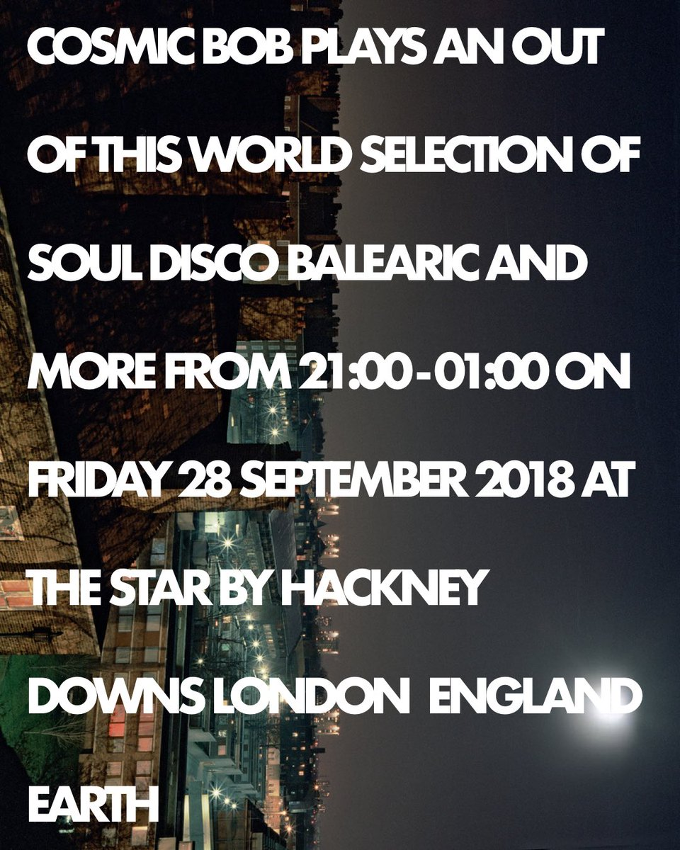 Back from Ibiza to a cold fresh London today. I managed to smuggle some warming Balearic sunshine back and will be sprinkling it over @StarbyHD on Friday. #dj #london #hackney #pub #disco #balearic #soul #house