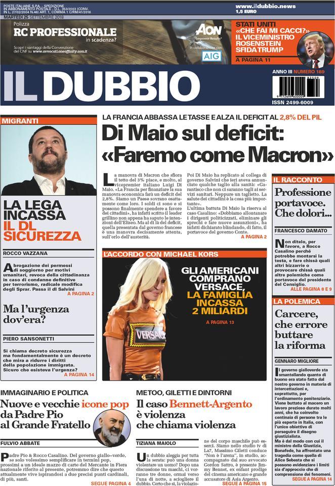 #buongiorno da #blogsicilia con la rassegna stampa delle prime pagine dei #giornali nazionali e i titoli di oggi #25settembre#news #italy #cronaca #politica #economia #cultura #salute #sport #oltrelostretto #sicilia http://wwwblogsicilia.it  - Ukustom