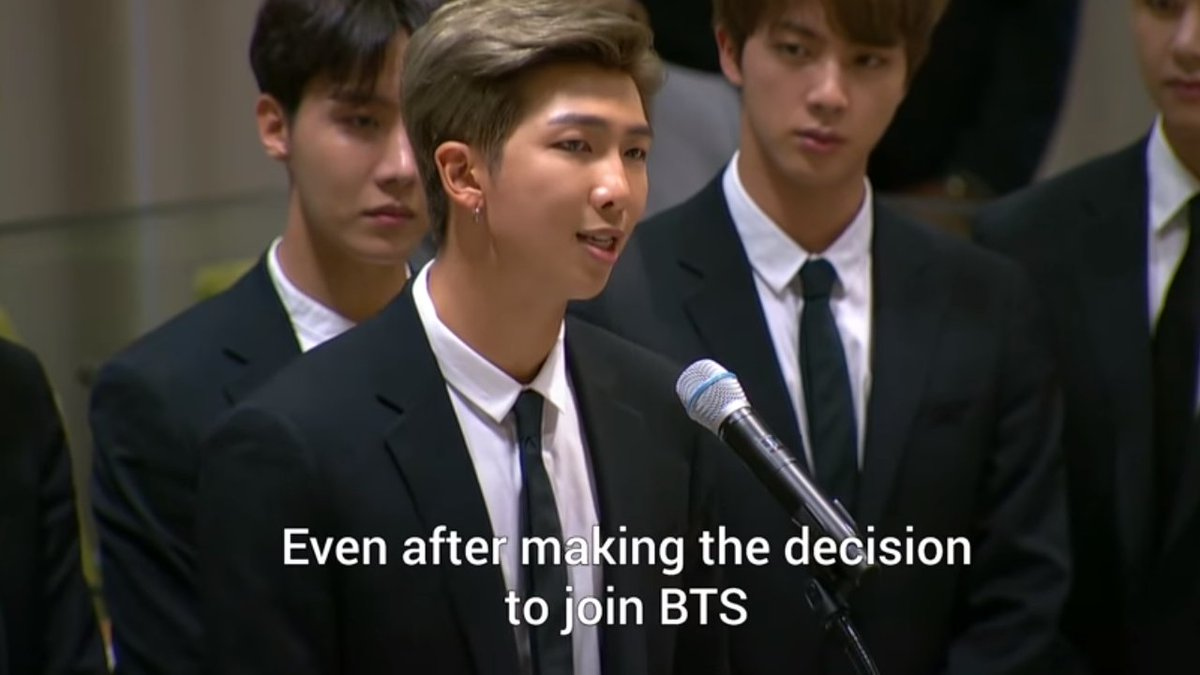 I WILL NOT GET TIRED OF TELLING EVERYONE HOW PROUD I AM OF THESE BOYS  BTS speech to the United Nations | UNICEF @BTS_twt #BTS  #unicef #Love_Yourself #Love_Myself #endviolence   https:// youtu.be/oTe4f-bBEKg  &nbsp;  <br>http://pic.twitter.com/IIC8kWpkW5
