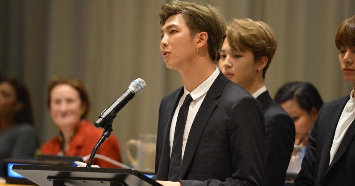 한국 가수로는 최초로 유엔 총회에 선 방탄소년단이 던진 메시지는? (전문)  https://t.co/Bcp0ly8e50