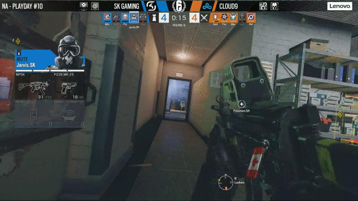 Image for the Tweet beginning: .@FoxA_R6 puts @Cloud9 on a