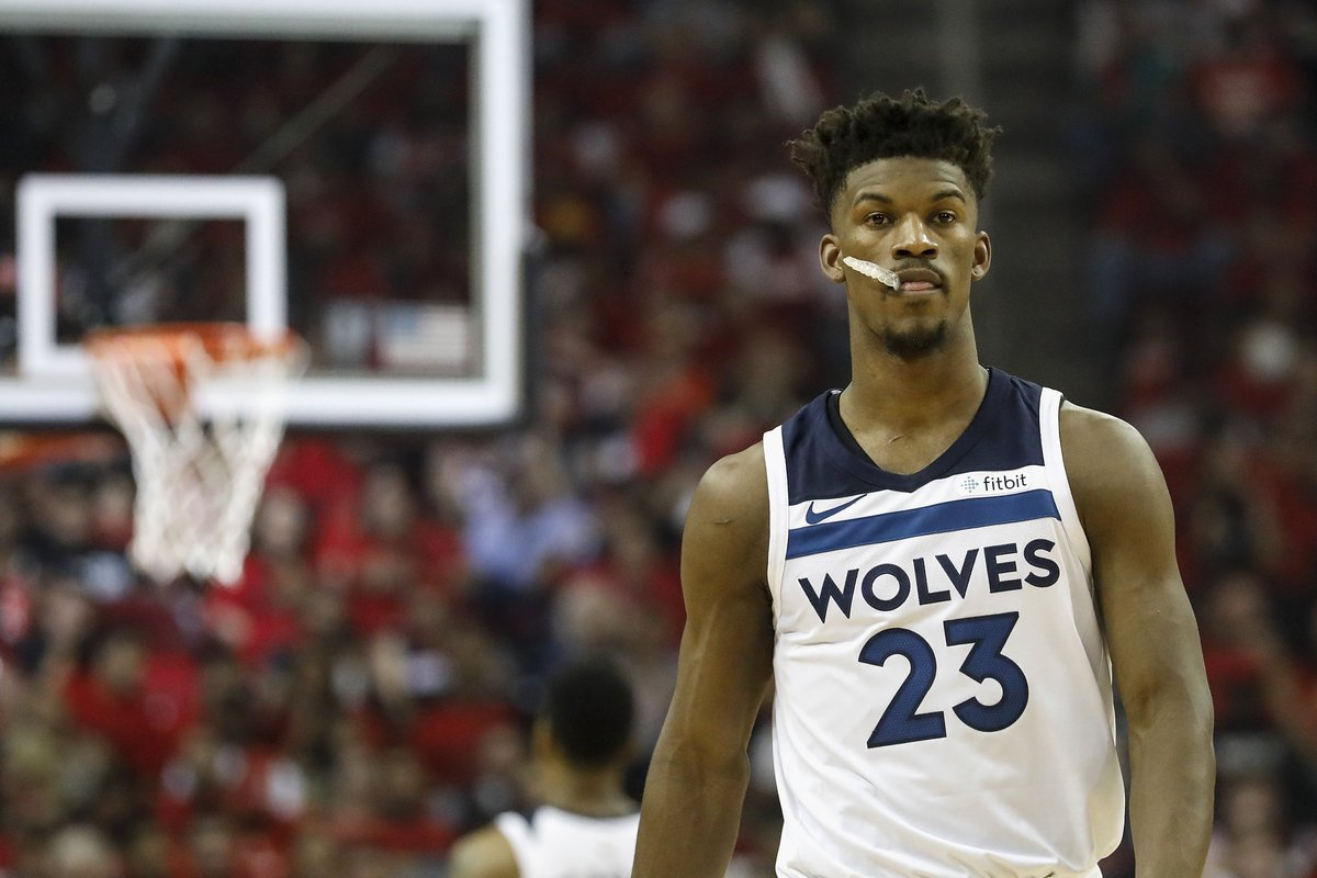 Tom Thibodeau met with Jimmy Butler to convince him to rejoin team for preseason, but Butler stands firm on trade request, per @WojVerticalNBA