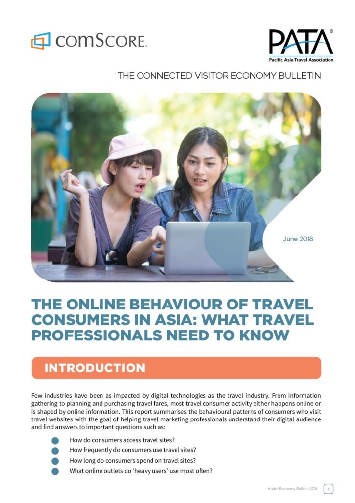 "Find out the behavioural patterns of consumers who visit travel websites with the #VEBulletin June 2018 by @comScoreAPAC, entitled ""The Online Behaviour of Travel Consumers in Asia: What Travel Professionals Need to Know"". Get a free copy at http://bit.ly/VEJun2018 pic.twitter.com/9hfjESG13l"
