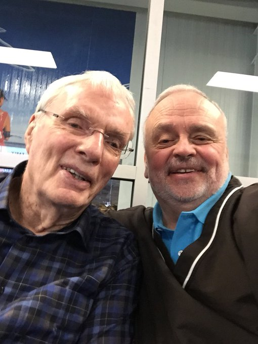 Happy Birthday to my buddy and GOAT Hubie Brown! Such an honor to work with and call him my friend.