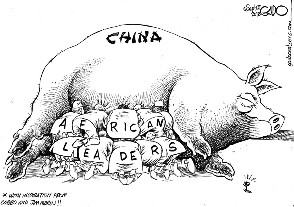 African Leaders and China - Gado  https:// buff.ly/2OMUQWa  &nbsp;  <br>http://pic.twitter.com/gnotEvmTIq