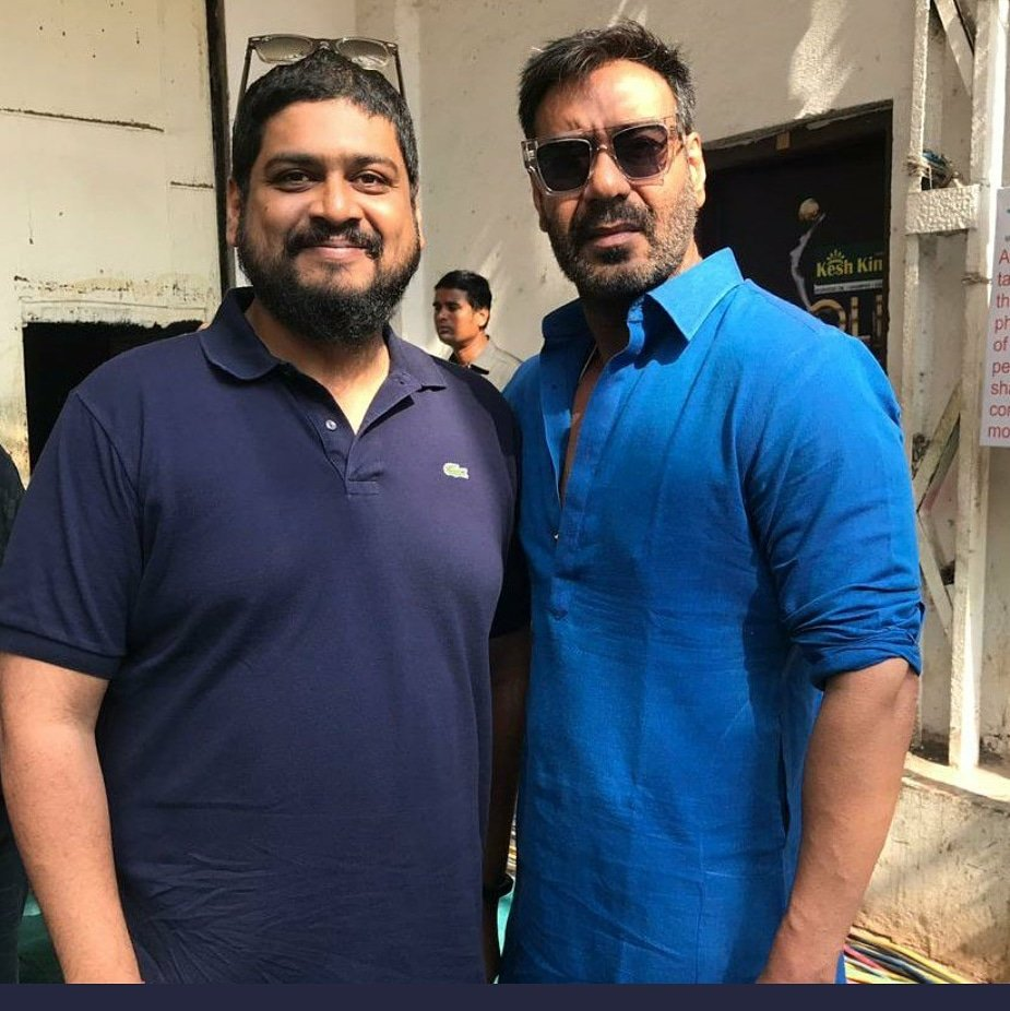 TAANAJI SHOOT BEGINS  . . . source close to the film revealed that Ajay Devgn is very passionate about the film and he has taken over the production reins himself. Reports even have it that he wants to launch the film on a larger canvas with a 3D version. <br>http://pic.twitter.com/NHN5xwMn1l