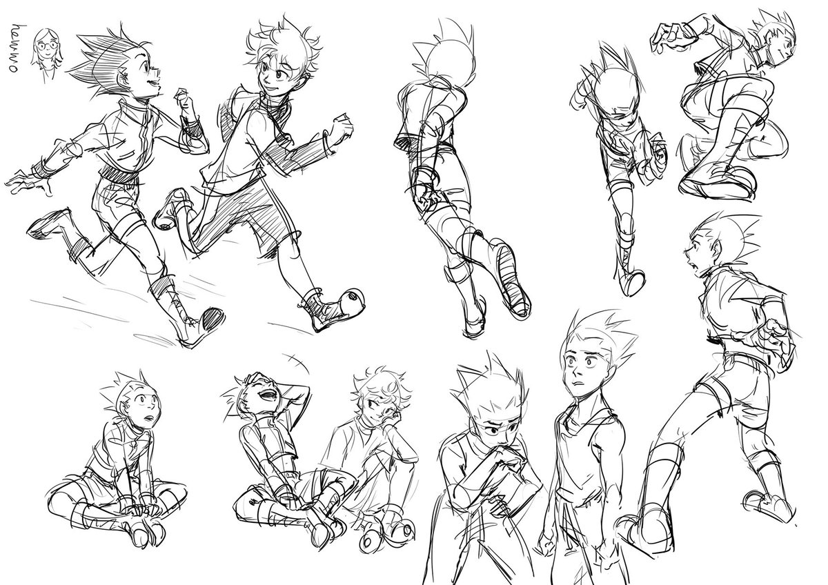 Here&#39;s a bunch of kg sketches I did in school from the past few weeks! <br>http://pic.twitter.com/hHNAJkNJw6