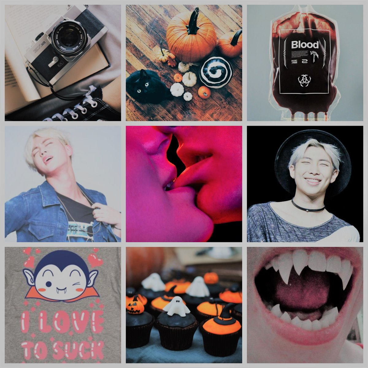#Namjin AU where Namjoon is an introvert student and Jin is that sparkling classmate that wouldn&#39;t let him alone...  Because Kim Seokjin, president of the &quot;Paranormal club&quot;, is convinced of something: Namjoon is a vampire and he&#39;s gonna prove it. <br>http://pic.twitter.com/dspgZvWjHJ