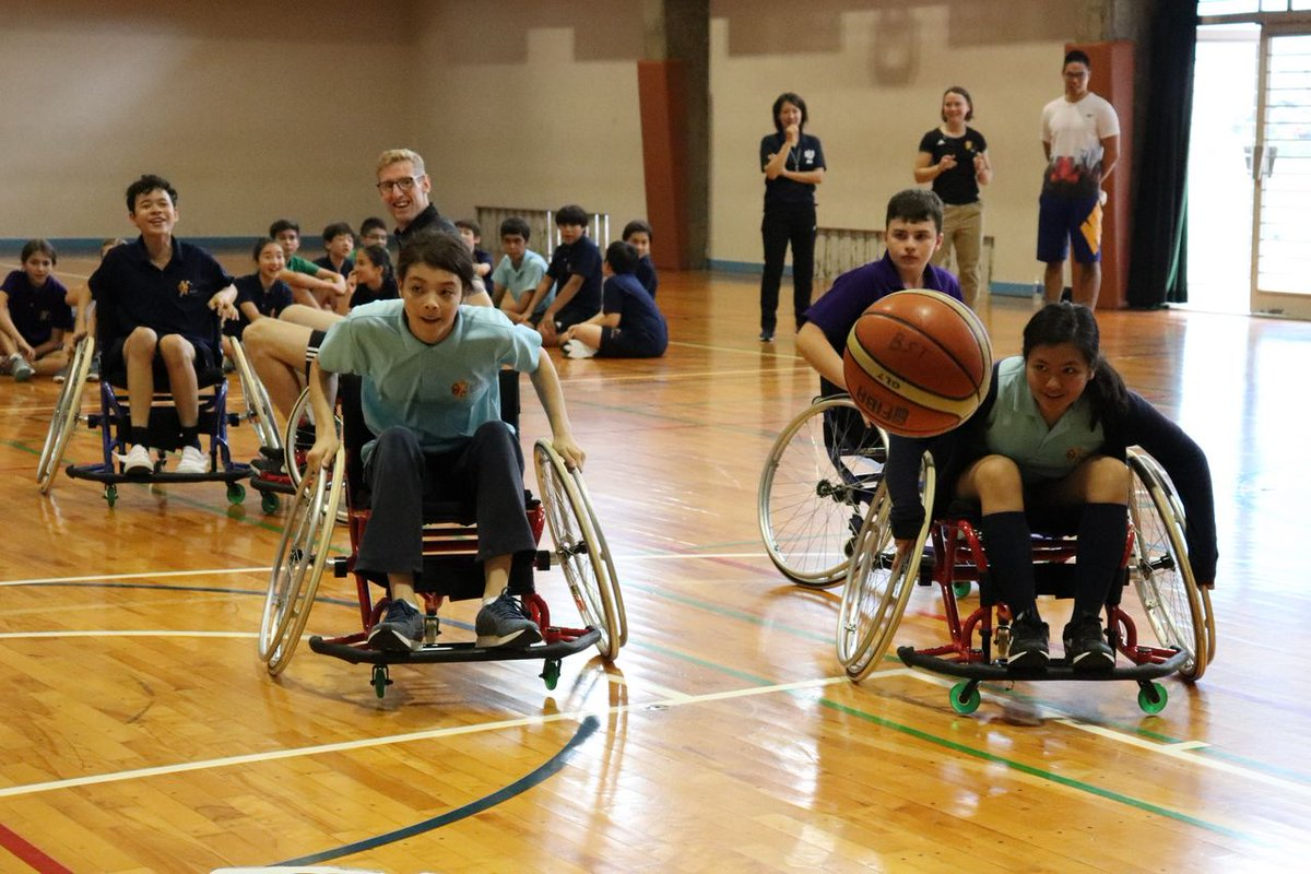 The pictures speak for themselves! Boys vs Girls battling it out for our final match today in week 2 of the BST Paralympic Project @BST_Sport @BST_Secondary @Tokyo2020 @Paralympics<br>http://pic.twitter.com/YZpBvmls8A