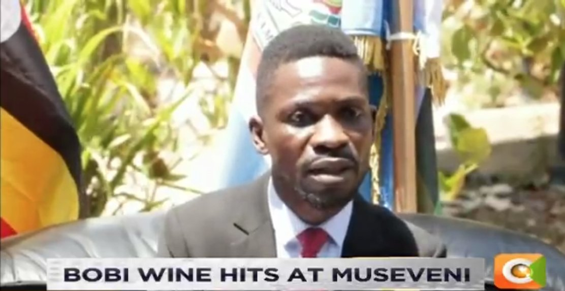 Bobi Wine hits out at President Museveni saying that he will not be in power forever. He says the President should treat others how he would want to be treated when he will be out of power #DayBreak <br>http://pic.twitter.com/XqTMD1hAcW