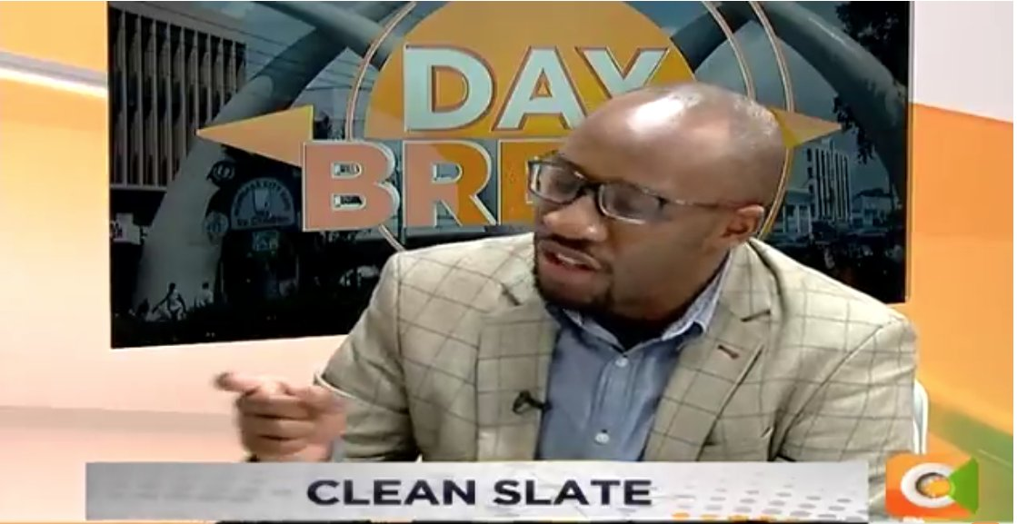 Roy Karuhize: Relationships are about understanding and not conditions. You have to make a lot of compromises with each other in order for the relationship to last #DayBreak <br>http://pic.twitter.com/o41TKlLFt6