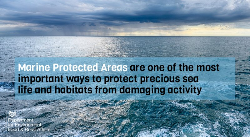 We want 30 per cent of the world's oceans to be protected by 2030. Today Environment Secretary @michaelgove has backed calls to treble internationally-agreed targets to protect our precious marine environments https://t.co/bthfZ4ZtwR