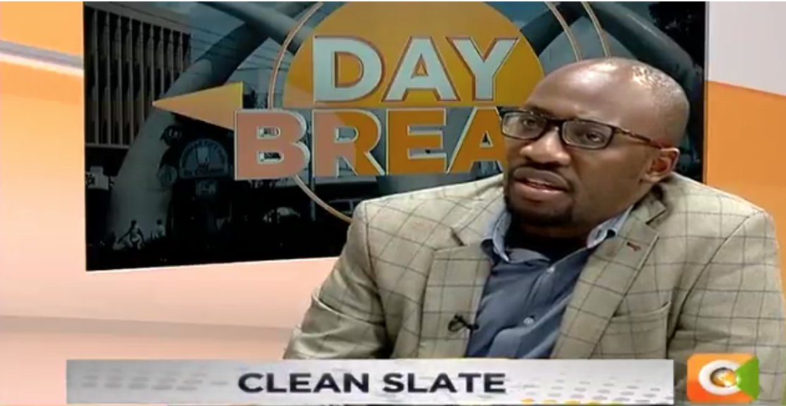 Roy Karuhize: Some scars are best left the way they are because it shows that you are able to deal with them straight to the face. When you part with someone, you should be able to move on and be able to act normally even when you meet somewhere #DayBreak <br>http://pic.twitter.com/Gw7zbRoYIi