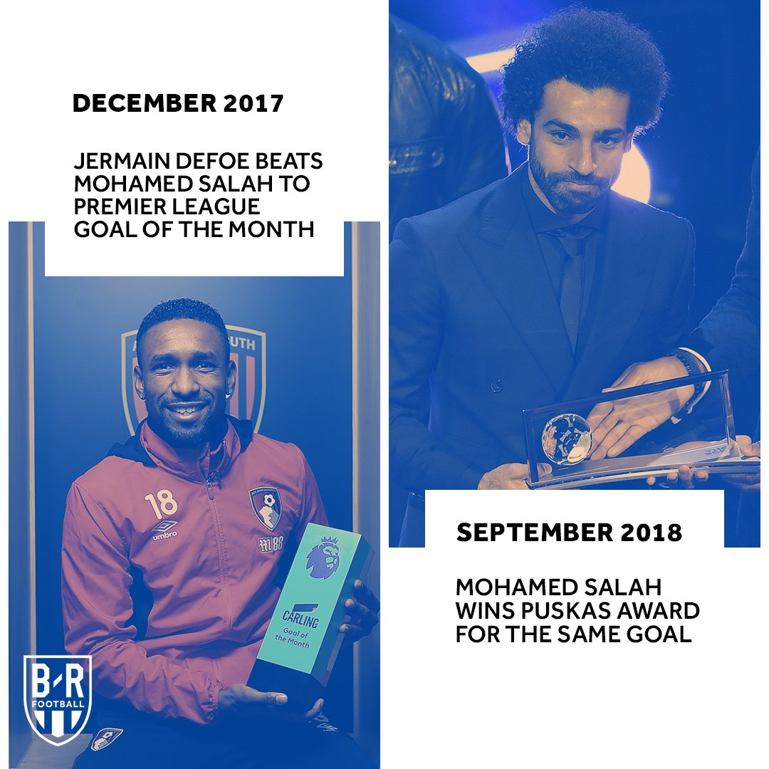It didn't even win goal of the month 🙈