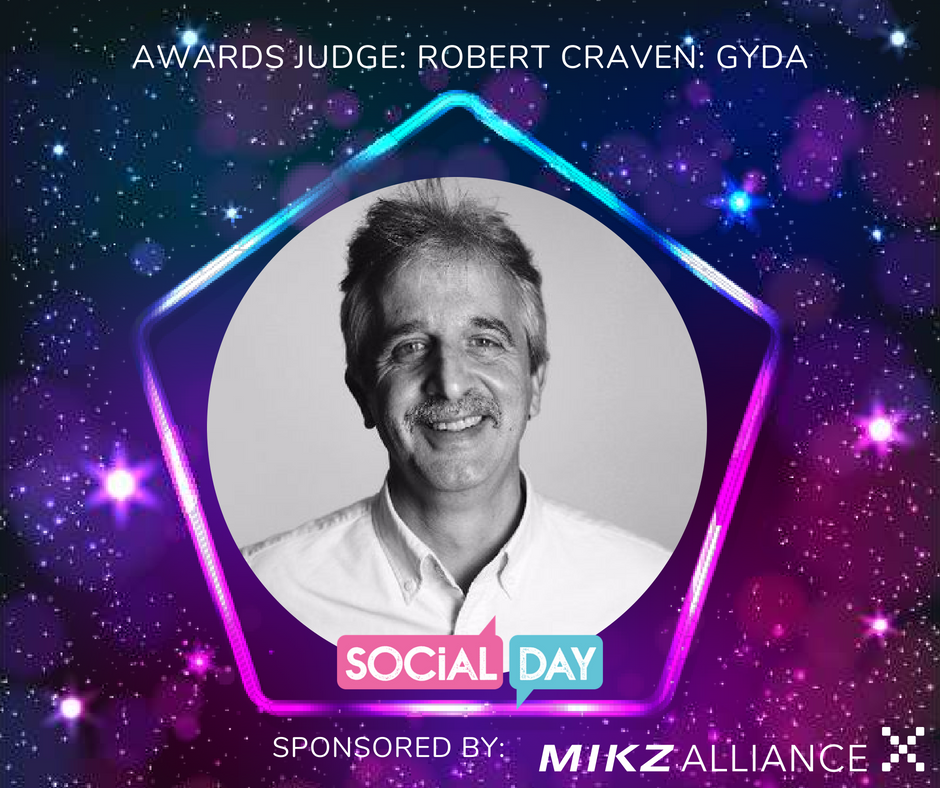 So proud to be a judge at the @SocialDay awards! https://t.co/YymKg0jB3D