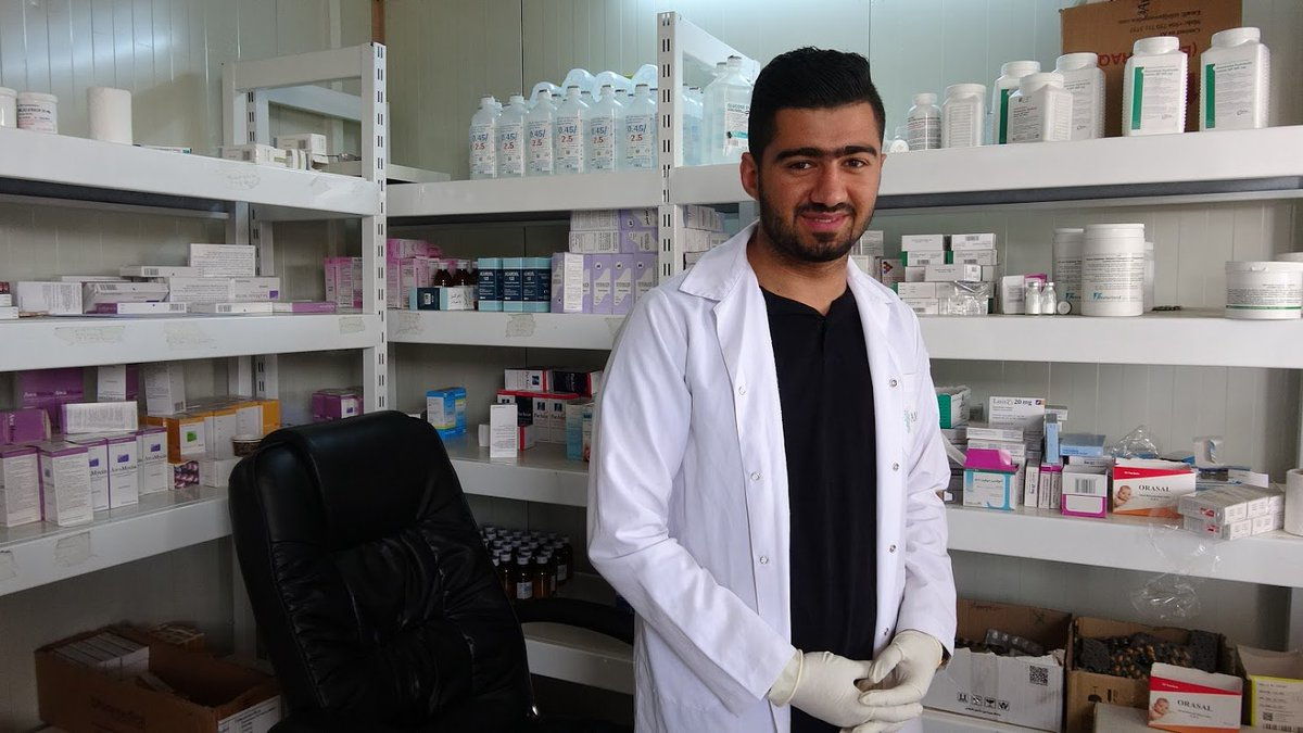 test Twitter Media - On #WorldPharmacistsDay we'd like to take the opportunity to celebrate all of AMAR's wonderful #pharmacists working across #Iraq and in #refugee #IDP camps to bring medical care to some of the world's most vulnerable people. #rebuildinglives https://t.co/1ACmgU5zJo