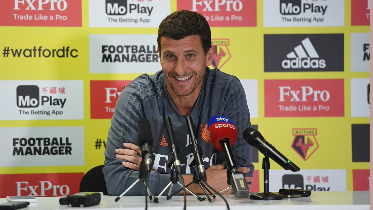 📹 | Javi Gracia is speaking to the press this afternoon ahead of tomorrow's @EFLCup tie with .  Ca@SpursOfficialtch up on the key lines at  fromhttps://t.co/MVTxcdurvl 5pm.  #watfordfc