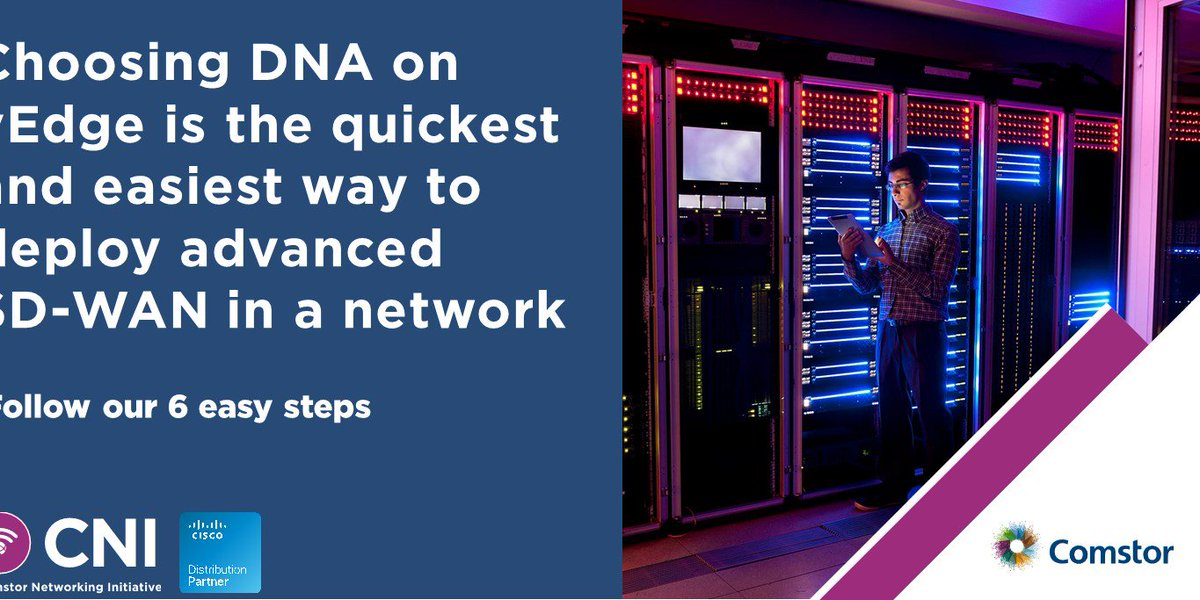 Thomas Swinnen On Twitter Choosing Dna On Vedge Is The Quickest And Easiest Way To Deploy Advanced Sd Wan In A Network The 6 Steps In Our Overview Will Explain What The Preferred