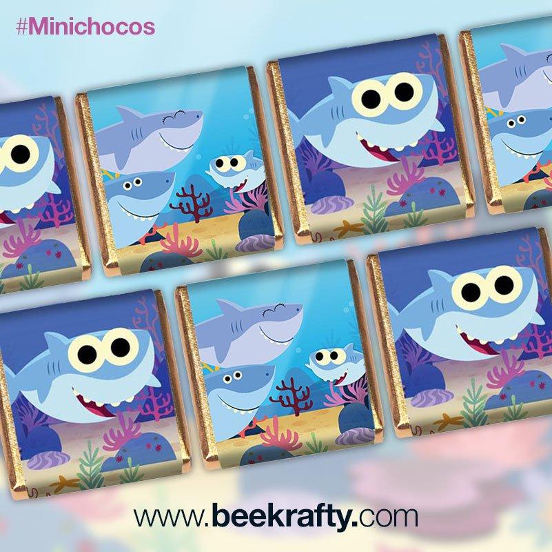 Beekrafty On Twitter Minichocos De Baby Shark Para El Cumpleanos 2