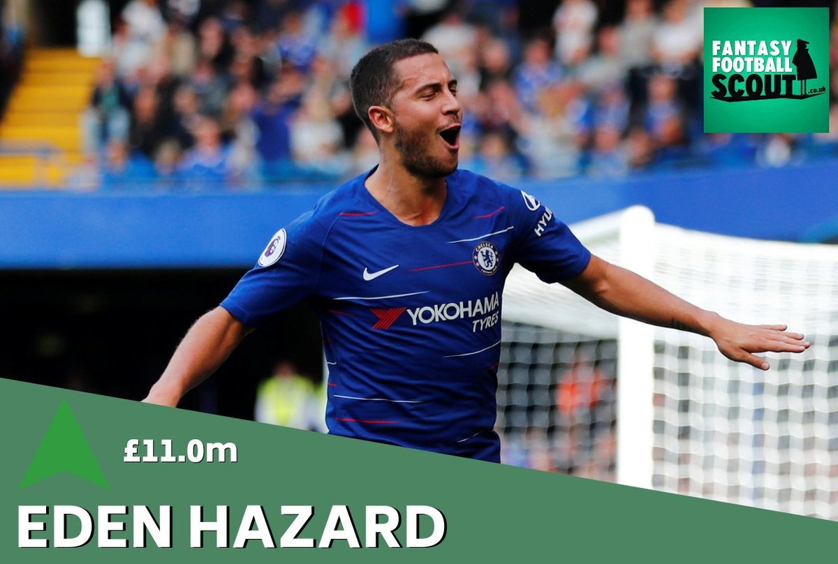 Fantasy Football Scout On Twitter  F0 9f 93 88 Price Rise  F0 9f 92 B0 He May Have Blanked In Gw6 But Hazard Has Earned More Owners Ahead Of A Home Clash With Liverpool In