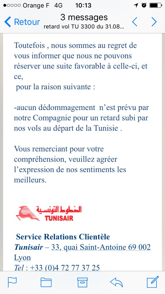 Fatma Chouaieb On Twitter Merci Tunisairfrance Tunisair Info