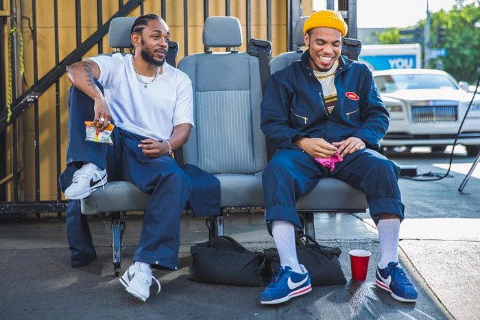Anderson .Paak and Kendrick Lamar may have a collaboration dropping next month 🔥🔥 goo.gl/d91yNg