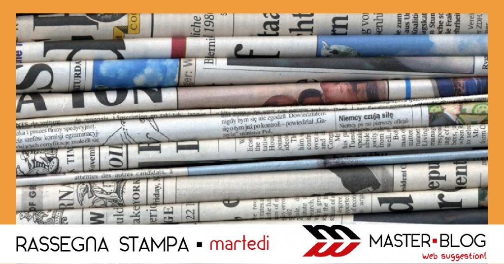 #buongiorno da #masterblog | #websuggestion con la rassegna stampa delle prime pagine dei #giornali nazionali e i titoli di oggi  http://bit.ly/2zfLMpP#news #italy #cronaca #politica #economia #cultura #salute #sport https://t.co/hooCLIxUUV  - Ukustom
