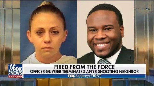 Dallas police officer Amber Guyger fired after fatally shooting neighbor Botham Jean https://t.co/thpwN0TJtc https://t.co/di1v9yyKGj