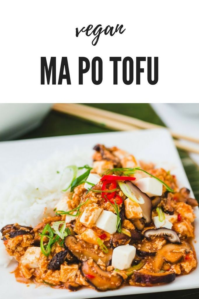 Just Pinned to Recipes for Moms and Family: Vegan Ma Po Tofu https://t.co/xsoLJAU9mM https://t.co/yFFvsGg3KC